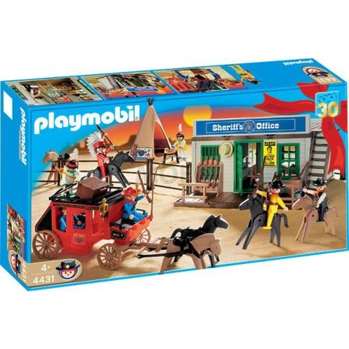 playmobil cowboy set half price at the entertainer   24