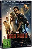 Iron Man 3 (2 Disc Steelbook) (DVD)