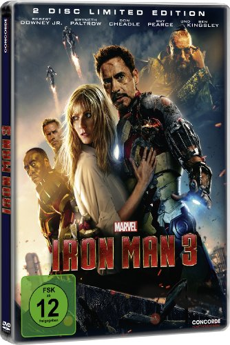 Iron Man 3 (Steelbook) [Limited Edition] [2 DVDs]