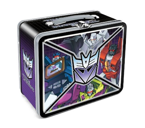 Aquarius Transformers Decepticon Lunchbox - 1