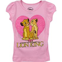 The Lion King Girls Pink T-Shirt S2255A (5/6)