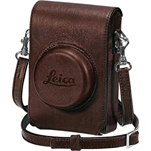 Leica 18752 D-Lux 5 Leather Case with Wrist Strap, Brown