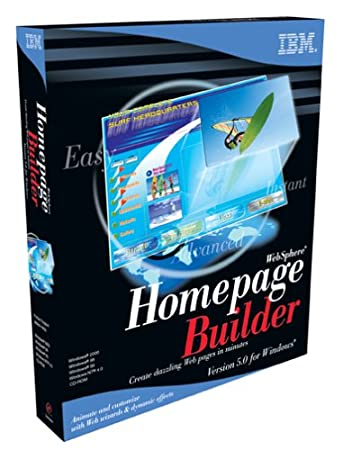WebSphere Homepage Builder 5.0 Windows Program Pack