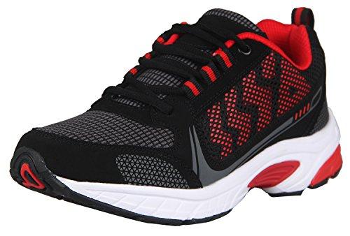 homme-chaussures-de-sport-running-plein-air-fr-45etiquette-usa-105-couleur-noirrouge