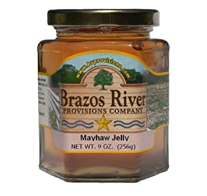 Gourmet Brazos River Provisions Texas Mayhaw Jelly 9 Ounce Jar