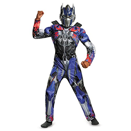 Transformers Age of Extinction Optimus Prime Childs Dress-Up Costume - Size M (7-8)