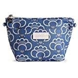 Apple & Bee Medium Journey Bag -Lotus Blossom Blue