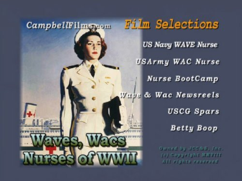 WACs, Waves, WAFs and Nurses of WWII Military Women WW2 WAC Army Navy old films DVD by WAFs
