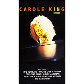 In Concert [VHS] by Carole King
