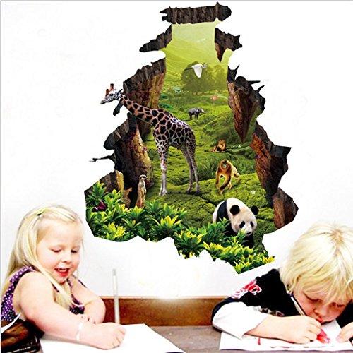gymnljy-pegatinas-de-pared-3d-estereoscopico-rural-animales-mural-etiqueta-engomada-de-la-pared-de-l