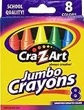 Cra-Z-art Jumbo Crayons, 8 Count (10203)