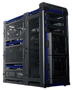 Antec Lanboy Air Blue ATX Mid Tower Computer Modular Case
