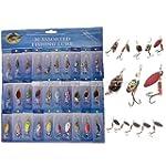 K9Q 30pcs Kinds Of Fishing Lures Rota...