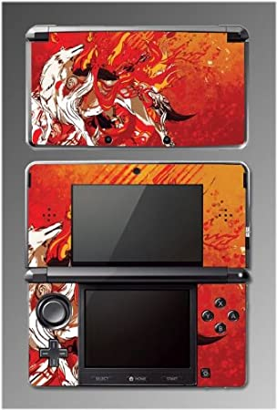 Okami Okamiden Wolf Ameratsu Puppy Game Vinyl Decal Cover Skin Protector 3 for Nintendo 3DS