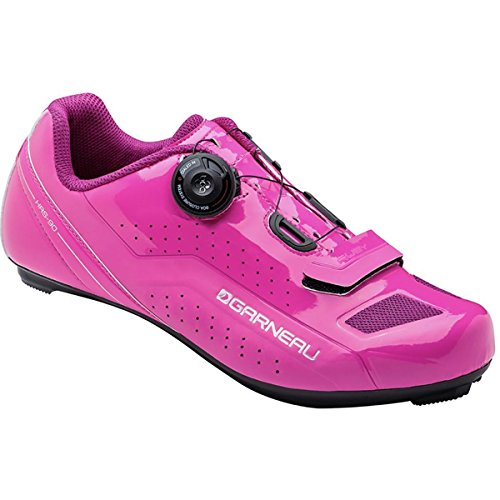 Louis Garneau Ruby Shoe - Women's Pink Glow, 40.0 (Pink Cycling Shoes compare prices)