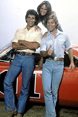 Dukes Of Hazzard Poster Catherine Bach Byron Cherry Christopher Mayer Car