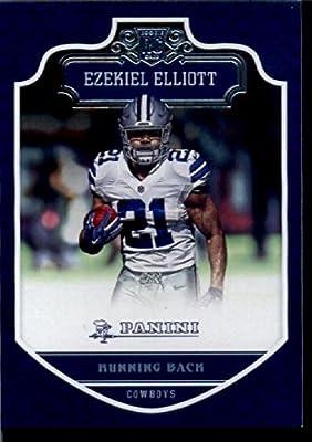 2016 Panini #209 Ezekiel Elliott Dallas Cowboys Football Rookie Card