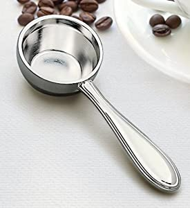 WESTWOOD COFFEE SCOOP - WESTWOOD COFFEE SCOOP, NICKEL PLATED. from Creative Gifts International