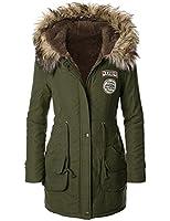 iLoveSIA(T) Womens Warm Winter Parkas Coats Faux Fur Lined Overcoats