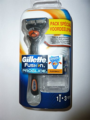 gillette-fusion-proglide-flexball-mit-4-klingen-1-rasierer-mit-1-klinge-3-ersatzklingen