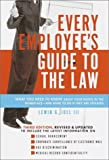 img - for Every Employee's Guide to the Law [Paperback] [2001] (Author) Lewin G. I Joel II book / textbook / text book