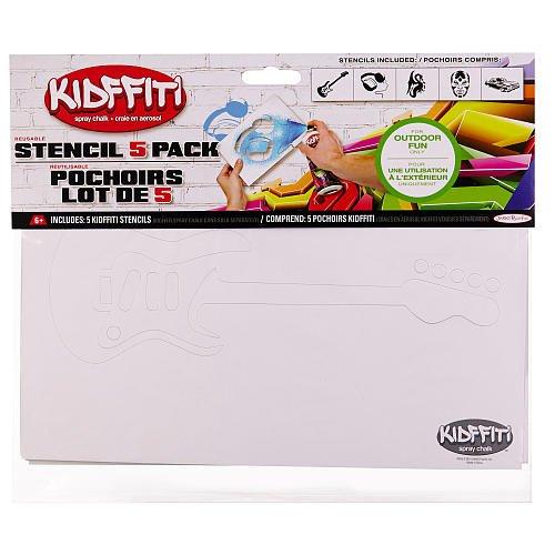 Kidffiti Stencil 5 Pack