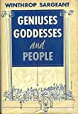 Geniuses, goddesses, and people