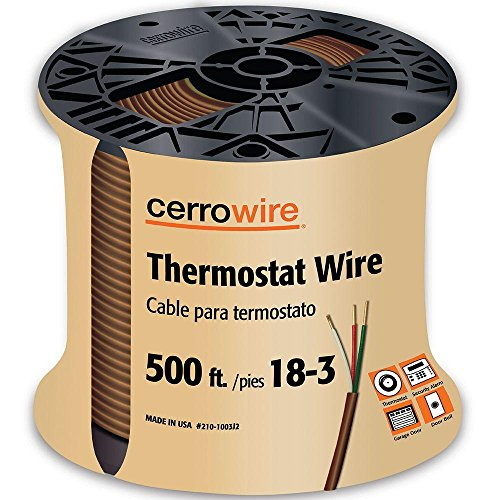 Cheap Price 500 ft  18/3 Thermostat Wire - Buy Cheap
