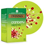 Twinings Green Tea & Cranberry 20bag - CLF-TWN-F8046