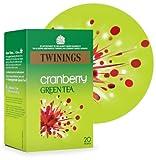 Twinings Green Tea & Cranberry 20bag - CLF-TWN-F8046