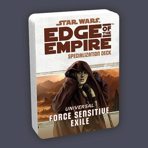 Force Sensitive Exile Star Wars Edge of the Empire Specialization Deck