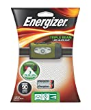 Energizer Triple Beam LED Headlight, Green with black strap (3AAA Max Batteries Included) 104-66460-1