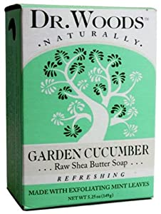 Dr. Woods Natural Soap, Mint Cucumber, 5.25 Ounce