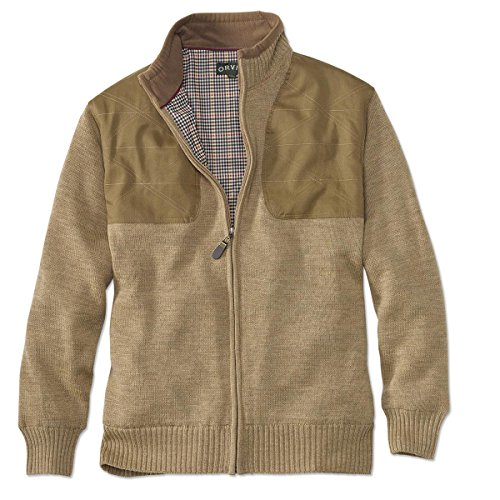 orvis-foul-weather-lined-sweater-camel-heather-large