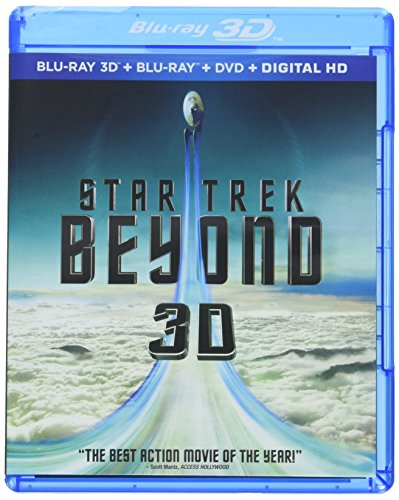 Blu-ray 3D : Star Trek Beyond (With Blu-Ray, With DVD, Digitally Mastered in HD, 3 Disc)