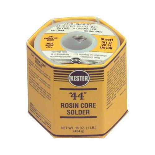 Kester 44 Rosin Core Solder 60/40 .031 1 lb. Spool images
