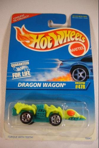 Hot Wheels Mattel 1985 Dragon Wagon Die-Cast 1:64 Car Collector #478 - 1