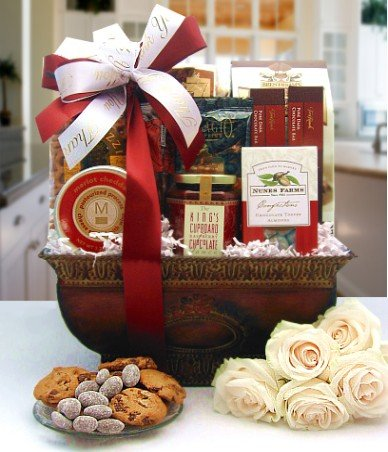 Heartfelt Wishes Gourmet Gift Basket - Great Gift