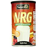 Naturade Protein Booster, N.R.G., Vanilla Flavor , 15 Ounces (Pack Of 2)