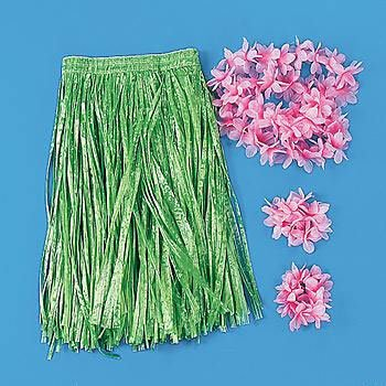 Green Childs Hula Set (4pc)
