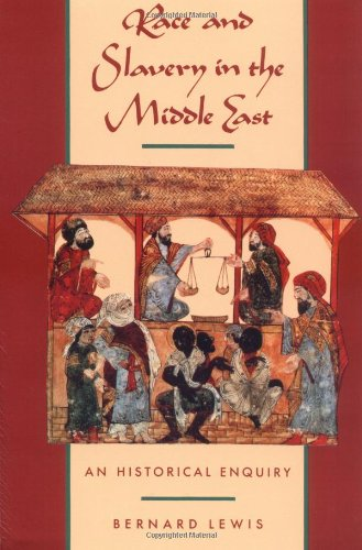 Amazon.com: Race and Slavery in the Middle East: An Historical Enquiry (9780195053265): Bernard Lewis: Books