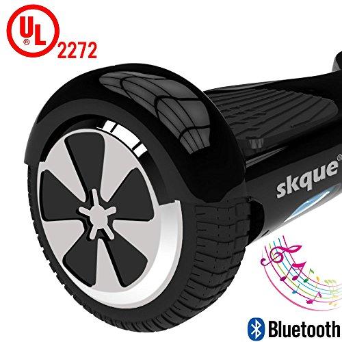 Self-Balancing-Scooter-Skque-65-I12-UL2272-Smart-Two-Wheel-Self-Balancing-Electric-Scooter-with-Bluetooth-Speaker-and-LED-Lights-Black