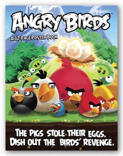Angry Birds 12-Page Poster Book 8.5