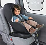 Dynamic Maxi-Cosi PrioriFix Car Seat in Black Reflection - Cleva Edition ChildSAFE Door Stopz Bundle