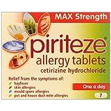 HayMax Piriteze Allergy 7 Allergy & Hayfever Relief Tablets