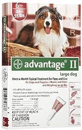 Advantage Dogs 21-55 lb 6pk