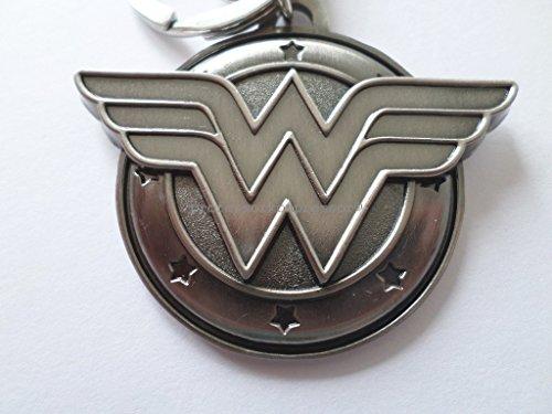 Portachiavi Wonderwoman Metallo Peltro Comico Wonder Woman