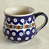 ポーリッシュポタリー (ポーランド食器) ボレスワヴィエツ陶器 (BOLESLAWIEC) マグ マグカップ S コーヒーカップ フォークロア トラディション 220ml K52-70