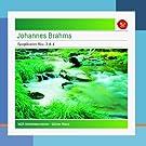Brahms : Symphonies n� 3 et n� 4