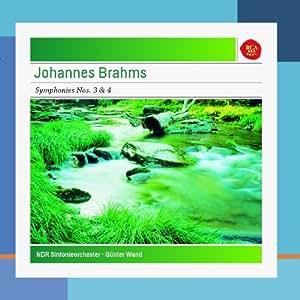 Brahms: Symphonies No. 3 in F Major, Op. 90 & No. 4 in E Minor, Op. 98 - Sony Classical Masters